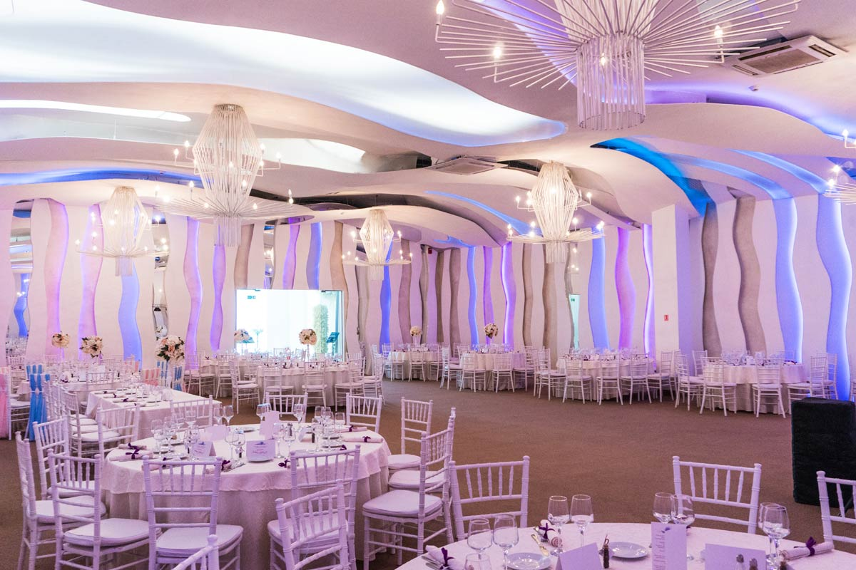Nunta Botez Salon Ballroom Evenimente Corporate Party Birthday Aniversare Bucuresti - Jubile The Ballroom